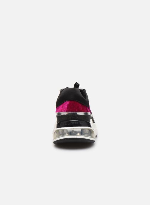 Sneakers Karl Lagerfeld Ventura Lazare Velvet Lace Paars rechts
