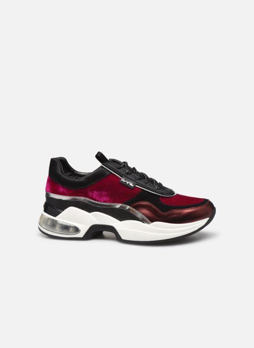 Sneakers KARL LAGERFELD Ventura Lazare Velvet Lace Paars achterkant