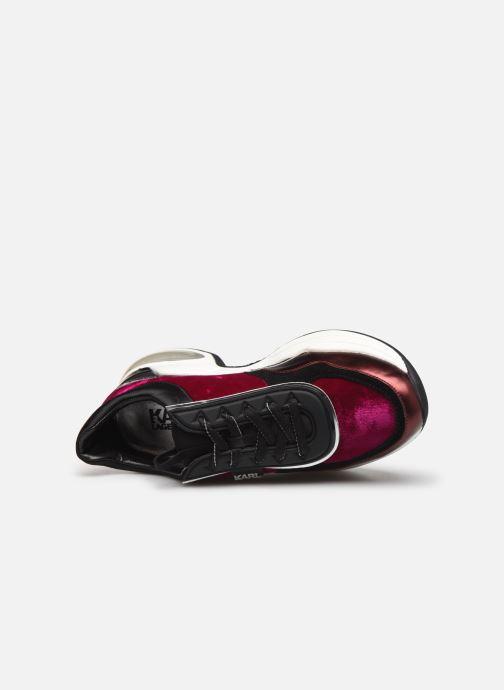 Sneakers Karl Lagerfeld Ventura Lazare Velvet Lace Paars links