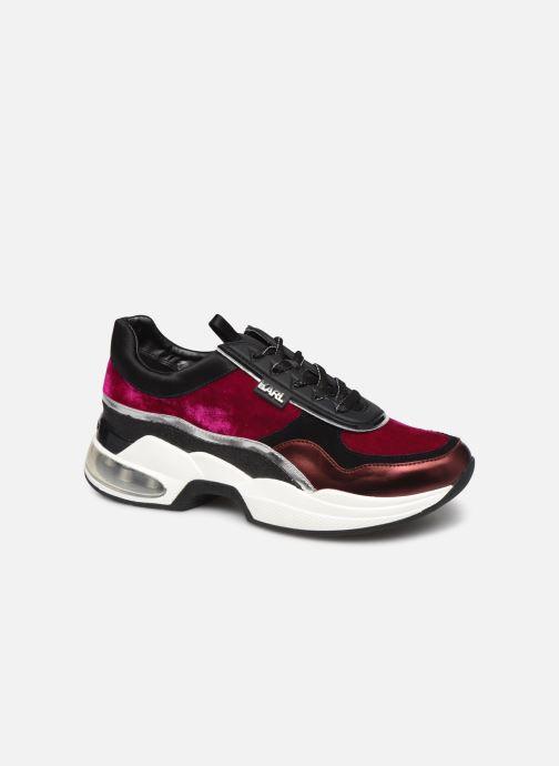 Sneakers KARL LAGERFELD Ventura Lazare Velvet Lace Paars detail