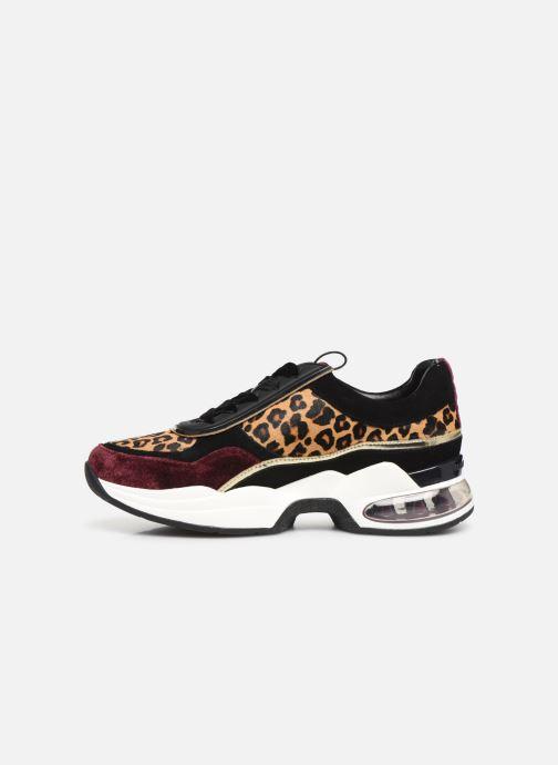 Sneakers Karl Lagerfeld Ventura Lazare Leopard Mix Paars voorkant