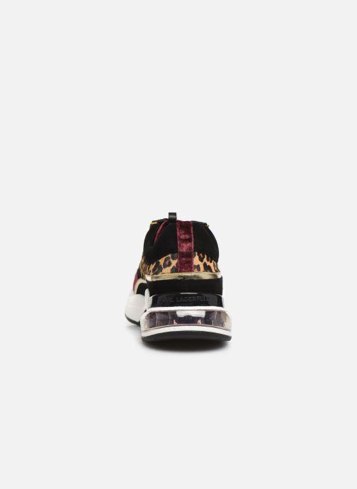 Sneakers KARL LAGERFELD Ventura Lazare Leopard Mix Paars rechts