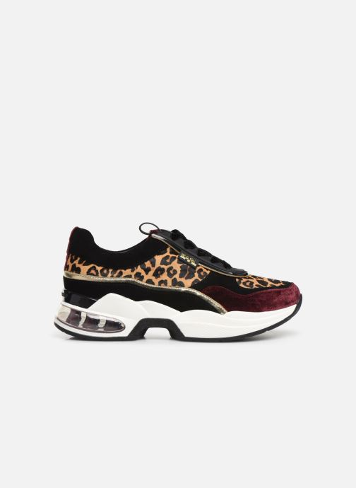 Sneakers Karl Lagerfeld Ventura Lazare Leopard Mix Paars achterkant