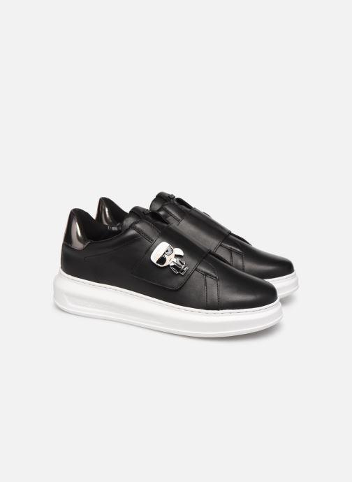 Sneakers Karl Lagerfeld Kapri Ikonic Fix Strap Zwart 3/4'