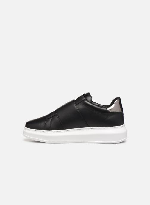 Sneakers Karl Lagerfeld Kapri Ikonic Fix Strap Zwart voorkant