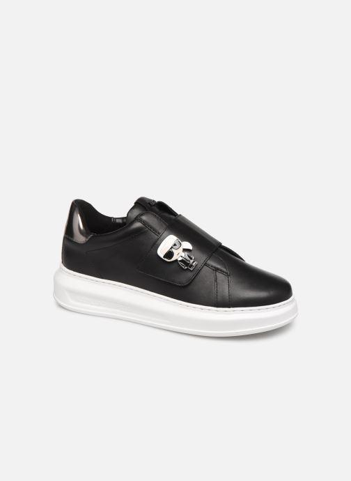 Sneakers Karl Lagerfeld Kapri Ikonic Fix Strap Zwart detail