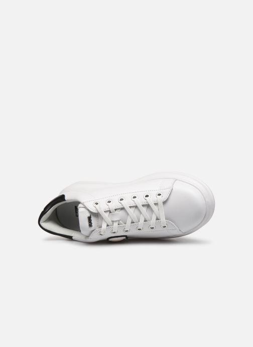 Sneaker KARL LAGERFELD Kapri Karl Ikonic Lo Lace 2 weiß ansicht von links