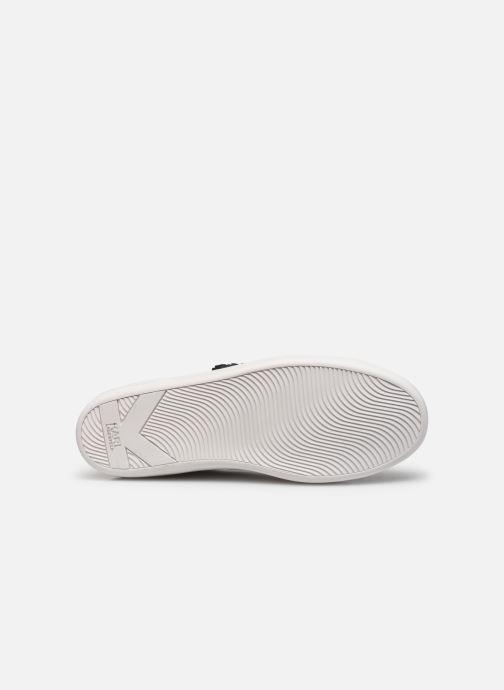 Karl Lagerfeld Kupsole Ii Ikonic Lo Lace (blanc) - Baskets Blanc (white) DPX3oRdu