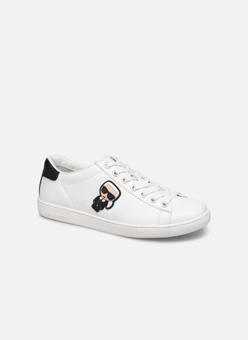 Baskets KARL LAGERFELD Kupsole II Karl Ikonic Lo Lace Blanc vue détail/paire