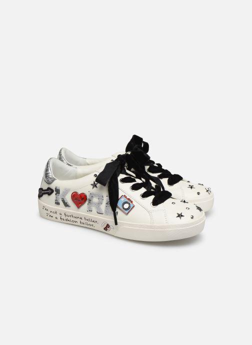 Sneakers Karl Lagerfeld Skool Jewel Badge Lo Wit 3/4'
