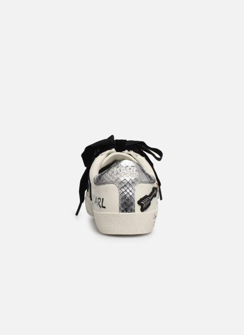 Sneakers Karl Lagerfeld Skool Jewel Badge Lo Wit rechts