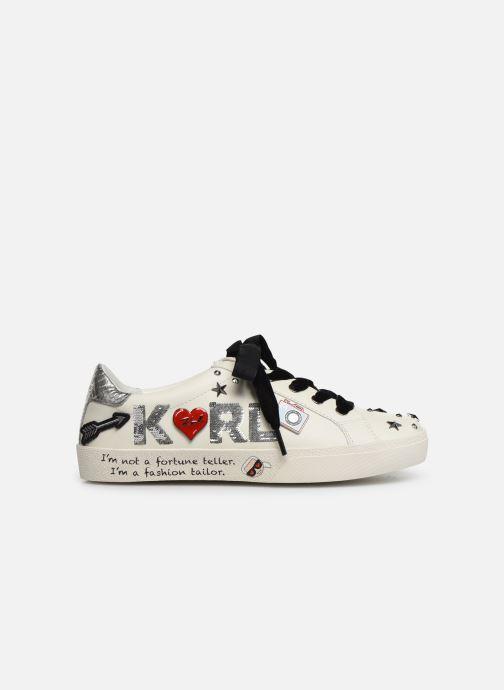 Sneakers KARL LAGERFELD Skool Jewel Badge Lo Wit achterkant