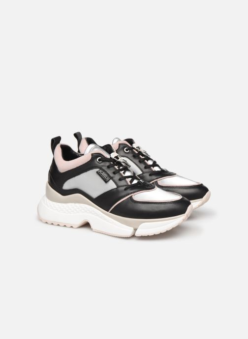 Sneakers Karl Lagerfeld Aventur Lux Leather Lace Shoe Nero immagine 3/4
