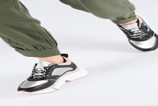 Baskets Karl Lagerfeld Aventur Lux Leather Lace Shoe Noir vue bas / vue portée sac
