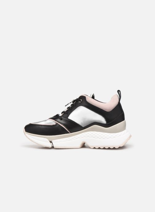 Sneakers Karl Lagerfeld Aventur Lux Leather Lace Shoe Nero immagine frontale