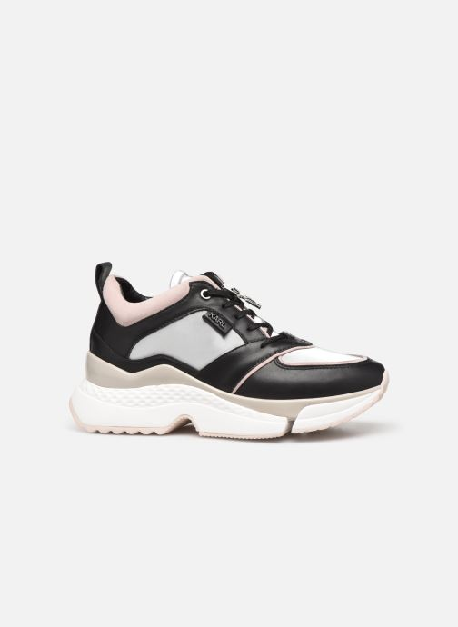 Sneakers Karl Lagerfeld Aventur Lux Leather Lace Shoe Nero immagine posteriore