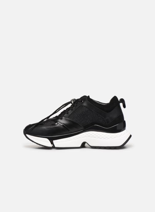 Sneakers Karl Lagerfeld Aventur Lux Mix Lace Shoe Zwart voorkant