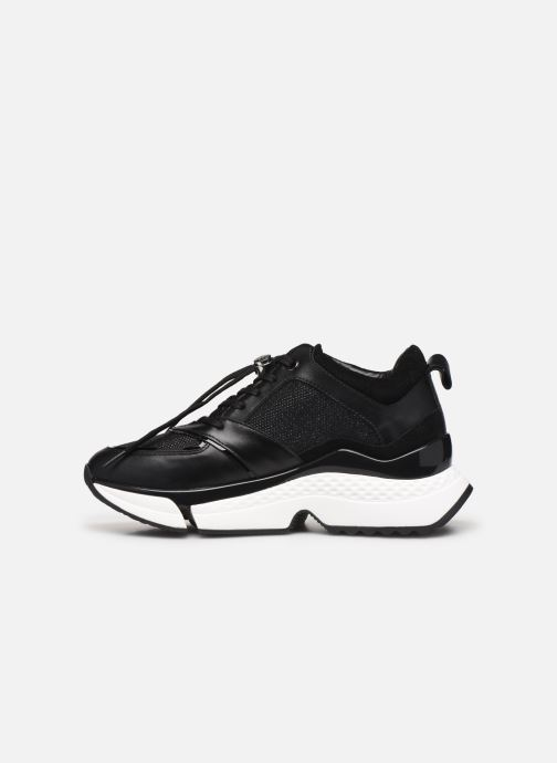 Sneakers Karl Lagerfeld Aventur Lux Mix Lace Shoe Nero immagine frontale