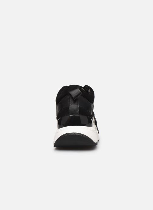 Sneakers Karl Lagerfeld Aventur Lux Mix Lace Shoe Nero immagine destra