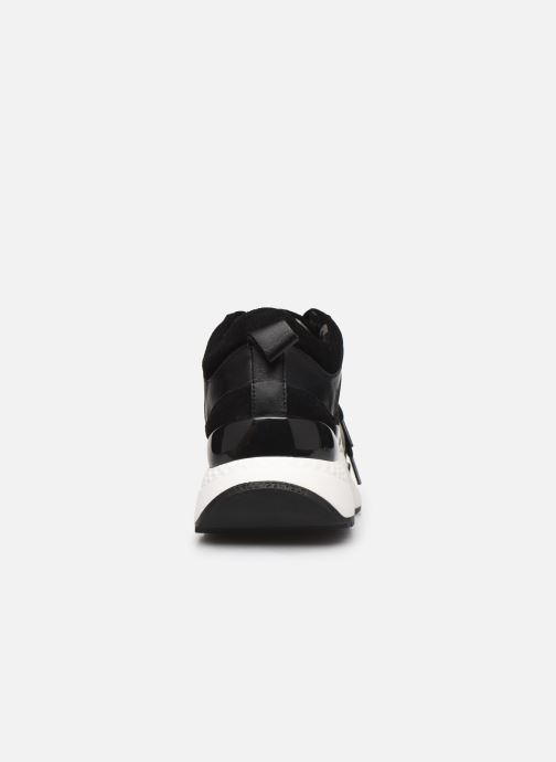 Baskets Karl Lagerfeld Aventur Lux Mix Lace Shoe Noir vue droite
