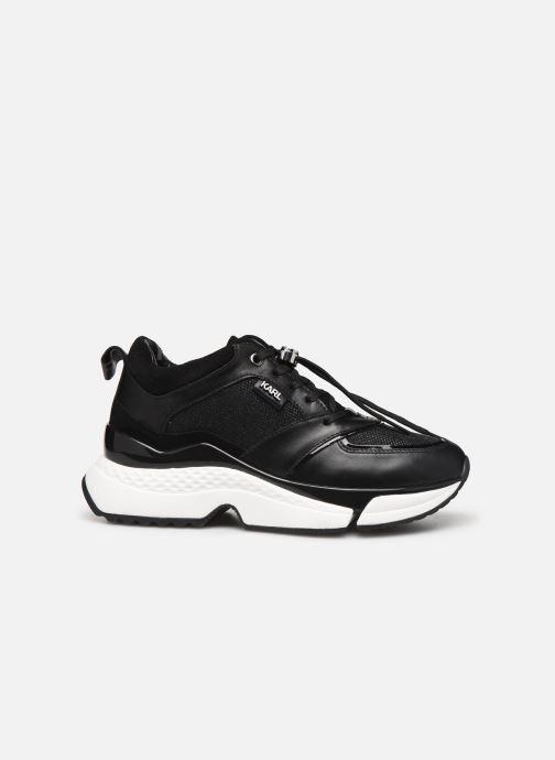 Sneakers Karl Lagerfeld Aventur Lux Mix Lace Shoe Nero immagine posteriore