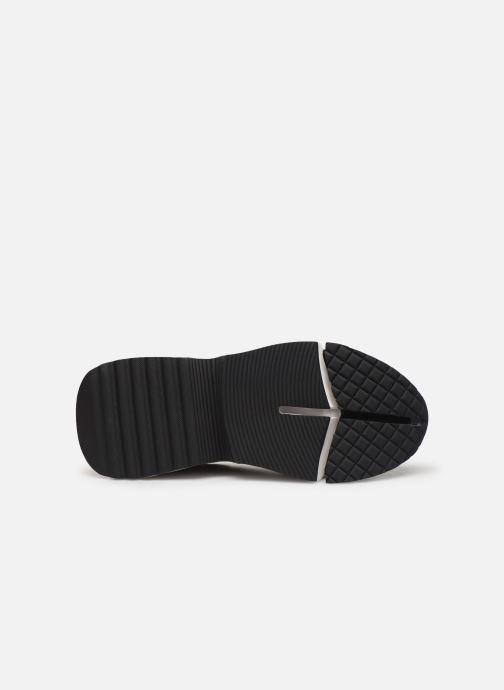 Baskets Karl Lagerfeld Aventur Lux Mix Lace Shoe Noir vue haut