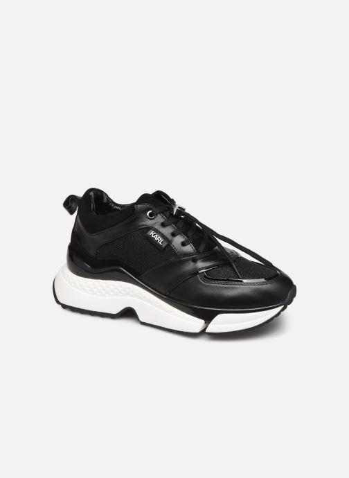 Baskets Karl Lagerfeld Aventur Lux Mix Lace Shoe Noir vue détail/paire