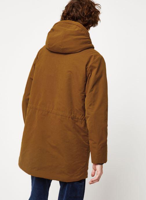 Vêtements Cuisse de Grenouille OUTERWEAR - PARKA Marron vue portées chaussures