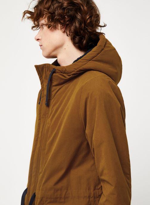 Vêtements Cuisse de Grenouille OUTERWEAR - PARKA Marron vue face