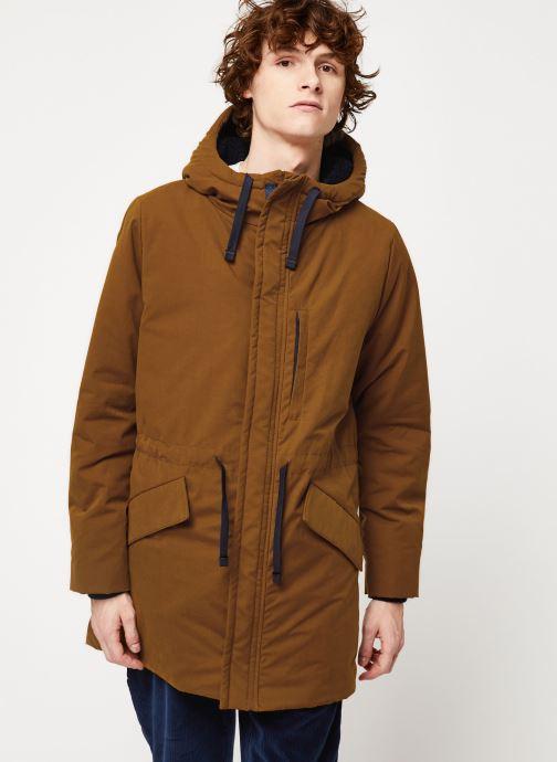 Vêtements Cuisse de Grenouille OUTERWEAR - PARKA Marron vue droite