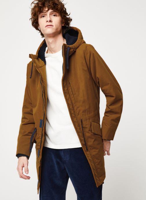 Vêtements Cuisse de Grenouille OUTERWEAR - PARKA Marron vue détail/paire