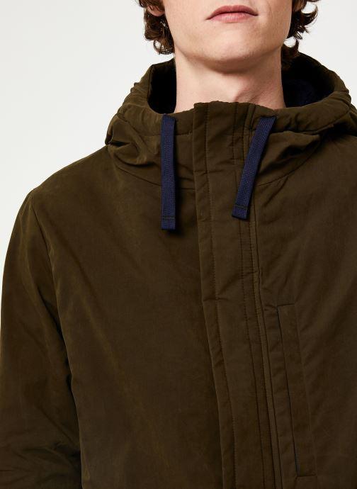 Vêtements Cuisse de Grenouille OUTERWEAR - PARKA Vert vue face