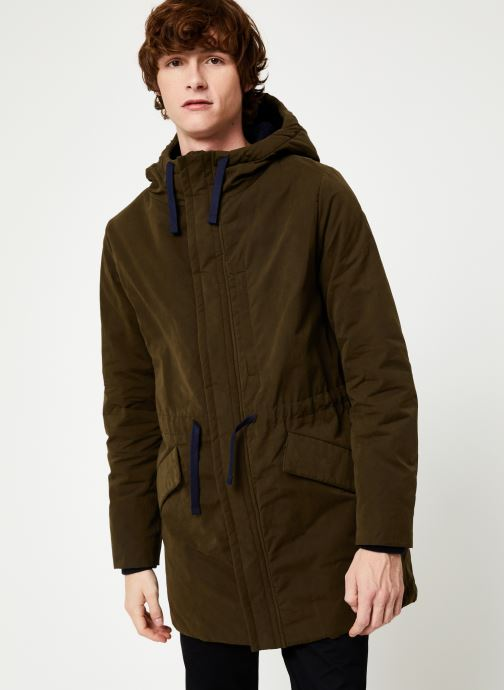 Vêtements Cuisse de Grenouille OUTERWEAR - PARKA Vert vue droite