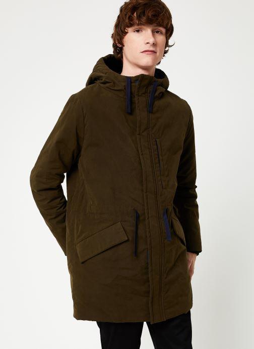 Vêtements Cuisse de Grenouille OUTERWEAR - PARKA Vert vue détail/paire
