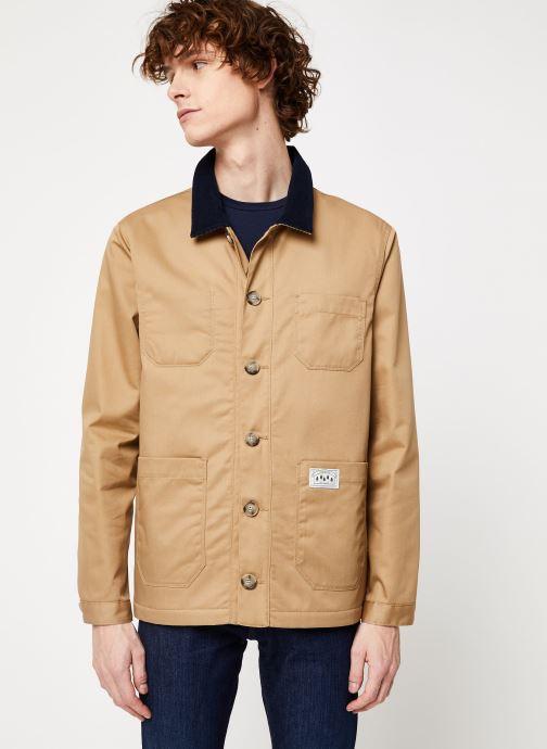 Vêtements Cuisse de Grenouille JACKET - WORKER Marron vue droite
