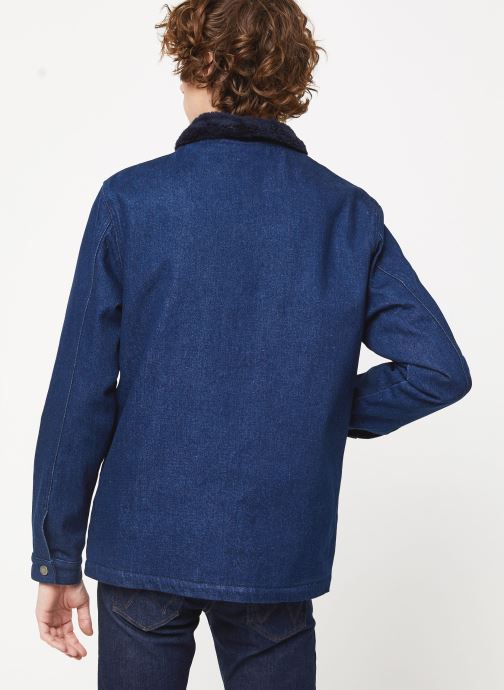Kleding Cuisse de Grenouille JACKET - DENIM COL Blauw model
