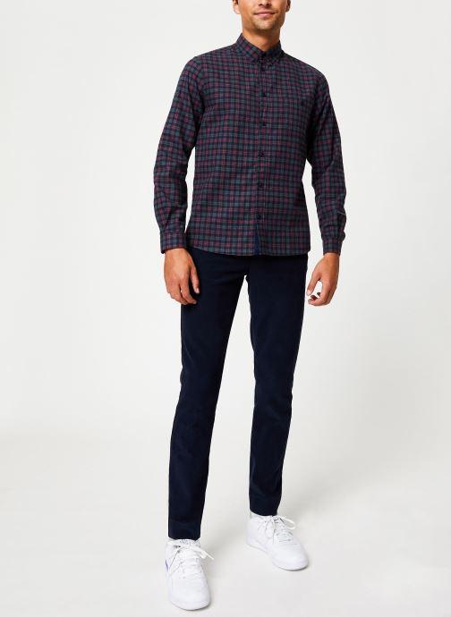 Tøj Cuisse de Grenouille SHIRT - BUTTON DOWN + POCKET Blå se forneden