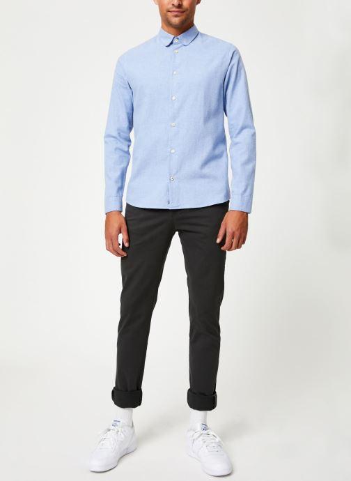 Vêtements Cuisse de Grenouille SHIRT - CLAUDINE Bleu vue bas / vue portée sac