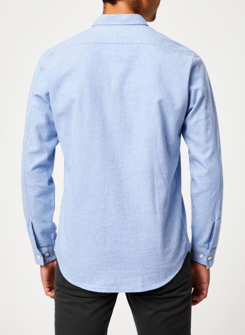 Vêtements Cuisse de Grenouille SHIRT - CLAUDINE Bleu vue portées chaussures