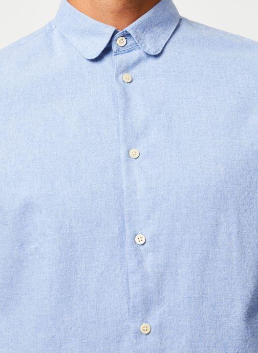 Vêtements Cuisse de Grenouille SHIRT - CLAUDINE Bleu vue face