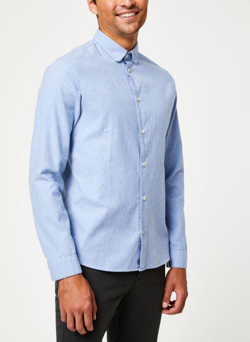 Tøj Cuisse de Grenouille SHIRT - CLAUDINE Blå Se fra højre