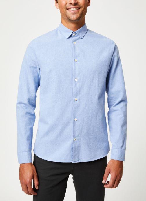 Vêtements Cuisse de Grenouille SHIRT - CLAUDINE Bleu vue détail/paire