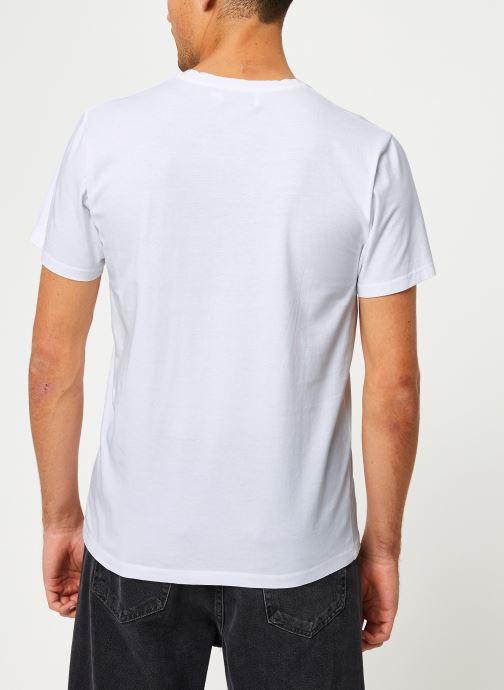 Vêtements Cuisse de Grenouille TEE-SHIRT - INTO THE WILD Blanc vue portées chaussures