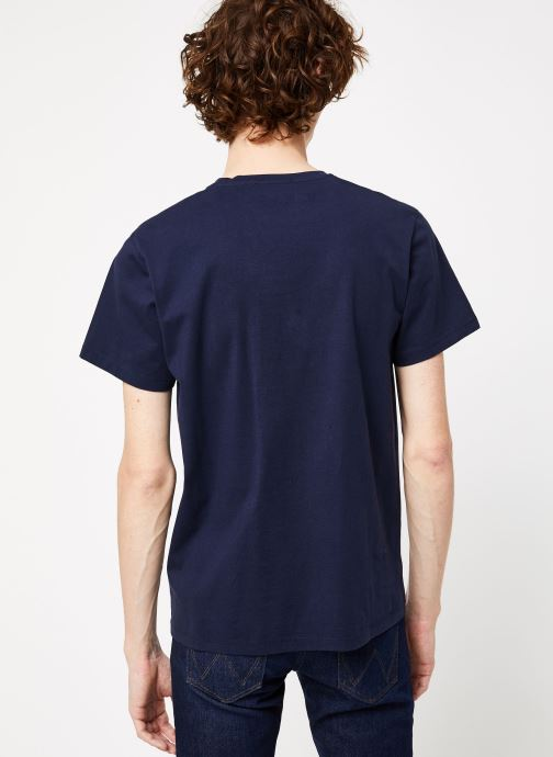 Kleding Cuisse de Grenouille TEE-SHIRT - INTO THE WILD Blauw model
