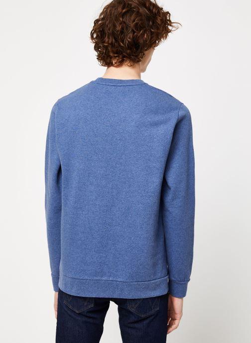 Vêtements Cuisse de Grenouille SWEATSHIRT - FIR TREE AND SUN Bleu vue portées chaussures