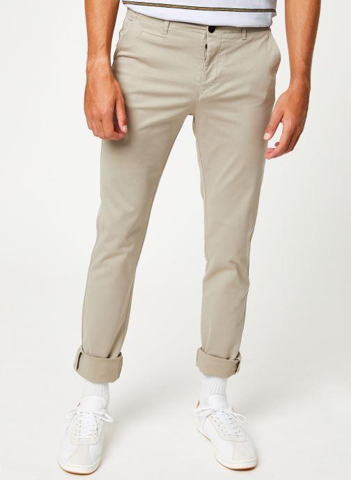 Tøj Cuisse de Grenouille PANTS - CHINO CLASSIC Beige detaljeret billede af skoene
