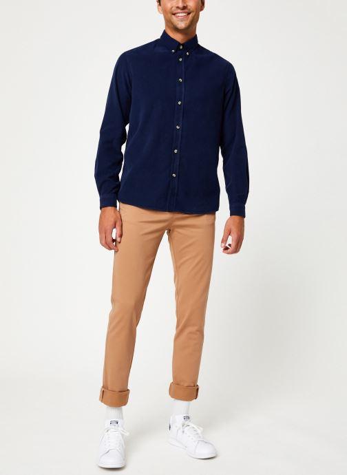 Vêtements Cuisse de Grenouille PANTS - CHINO CLASSIC Marron vue bas / vue portée sac