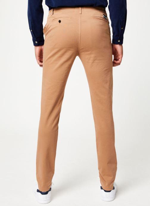 Vêtements Cuisse de Grenouille PANTS - CHINO CLASSIC Marron vue portées chaussures
