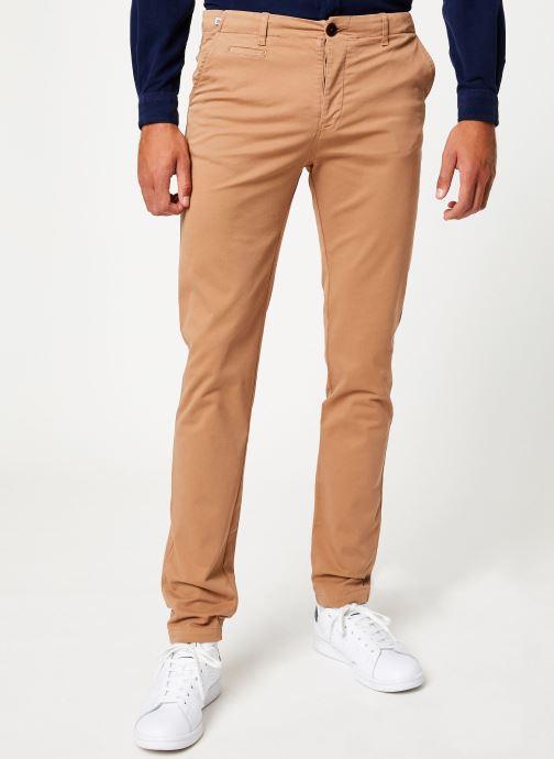 Vêtements Cuisse de Grenouille PANTS - CHINO CLASSIC Marron vue détail/paire