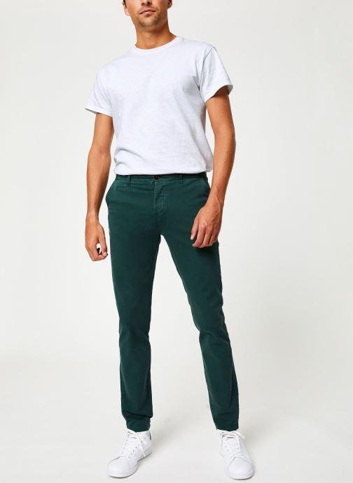 Vêtements Cuisse de Grenouille PANTS - CHINO CLASSIC Vert vue bas / vue portée sac